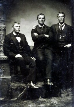 George, Louis and Charles Stoltz