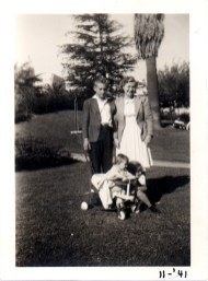 Jack, Virginia, Rosemary and Suzanne Dunham