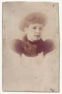 """María Jesús """"Jessie"""" (García) Alvarado (1871-1966)"""