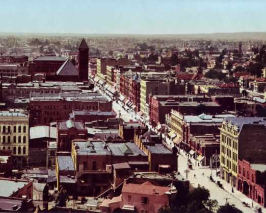 Los Angeles, 1900 (original color)