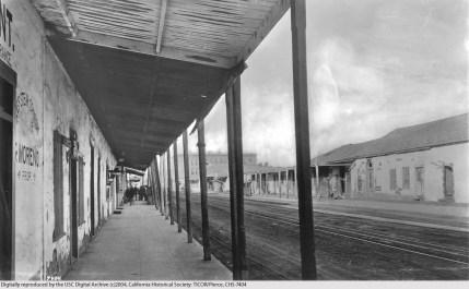 North Broadway (Sonoratown), Los Angeles, 1892