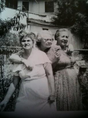 Rose (García) Portillo with unknown women