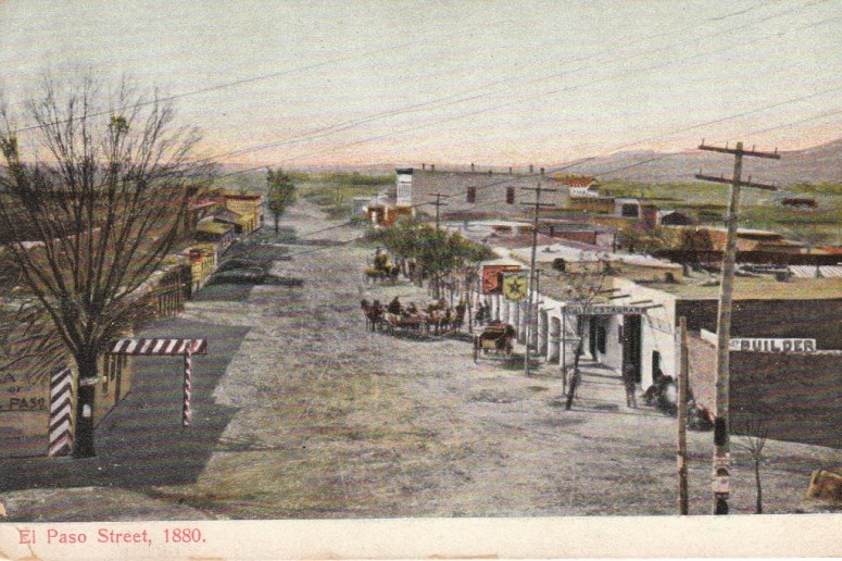 El Paso Street, 1880