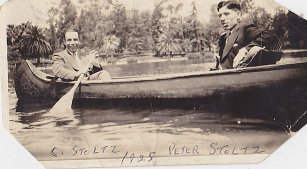 Charles & Peter Stoltz Sr. 1925