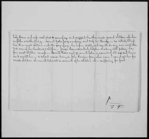an image of a letter mentioning Toby Roane with his family in 1866