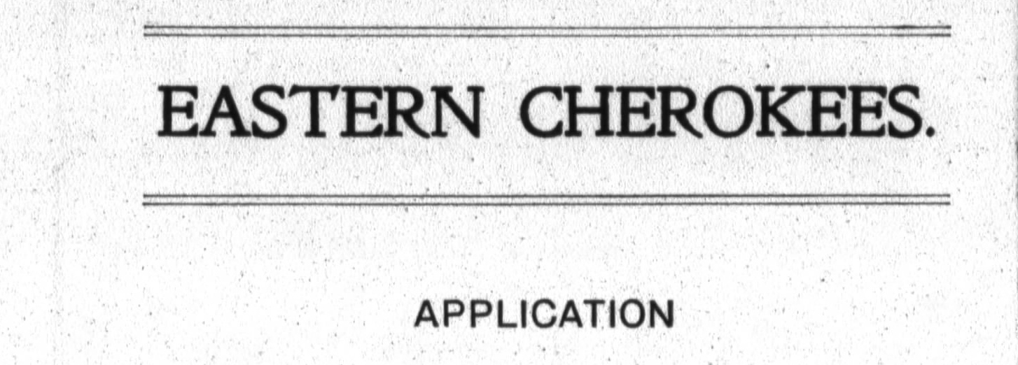 The Hale family of Virginia : Using Eastern Cherokee Applications to