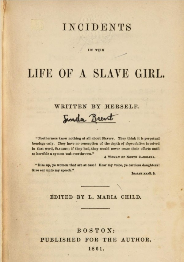 Incidents in the Life of a Slave Girl front cover