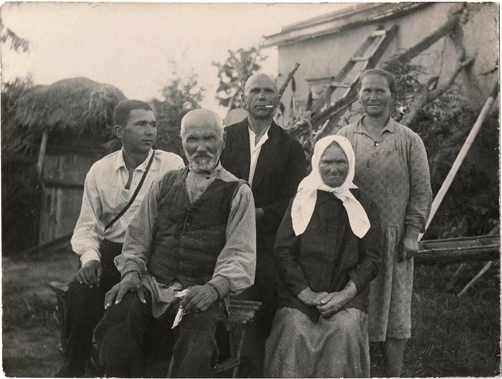 Никита Михайлович Суббота и его семья