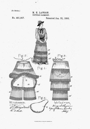 Bicycle Garment, 1893