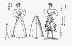 Cycling Skirt, 1896