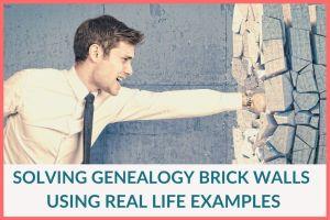 smashing genealogy brick walls