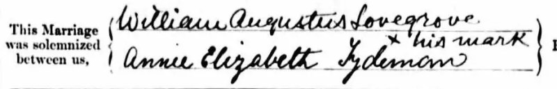 Ancestors signature