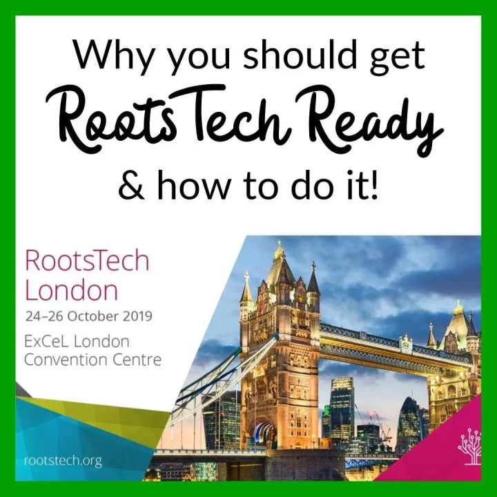 why you should get RootsTech ready and how to do it!