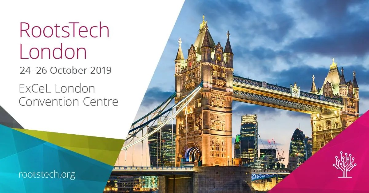 RootsTech London poster