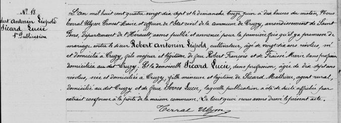 BandeMariageROBERTAntoninSICARDLucie-1897-06-13-1