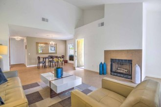 ACROSS LIVING ROOM WITH FIREPLACE