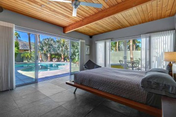 MASTER BEDROOM TO POOL AND VIEW RS