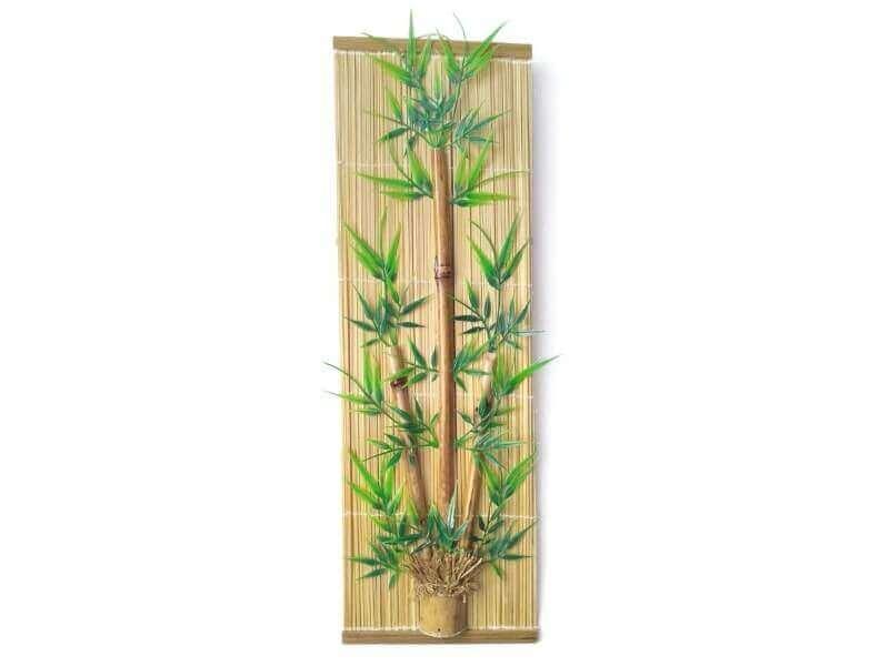 cara membuat hiasan dinding dari bambu