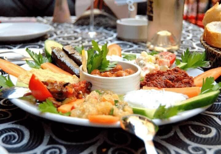 meze makanan khas turki
