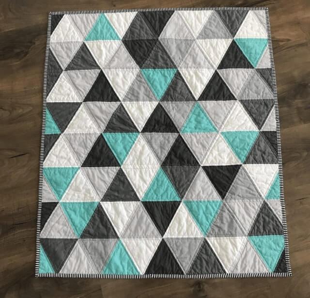 quilt kain perca segitiga
