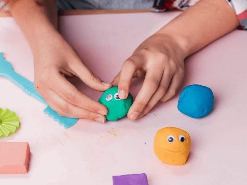 Cara Membuat Clay Terigu