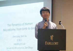 加州大學聖地牙哥分校博士後研究員 徐振江博士