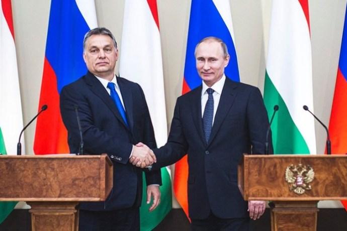 Viktor Orbán Vladimír Putin