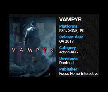 Vampyr estreno Generacion Xbox