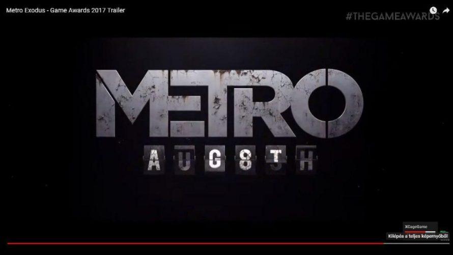 Agosto Metro Exodus