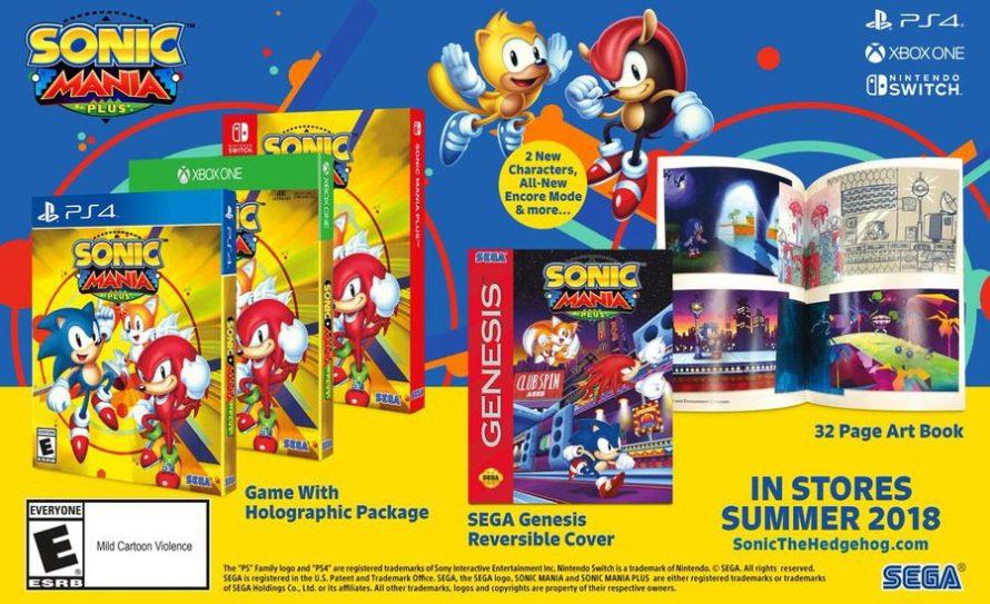 Sonic Mania Plus anunciado para Xbox One