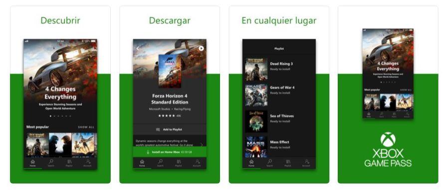 Ya disponible la App de Xbox Game Pass para iOS