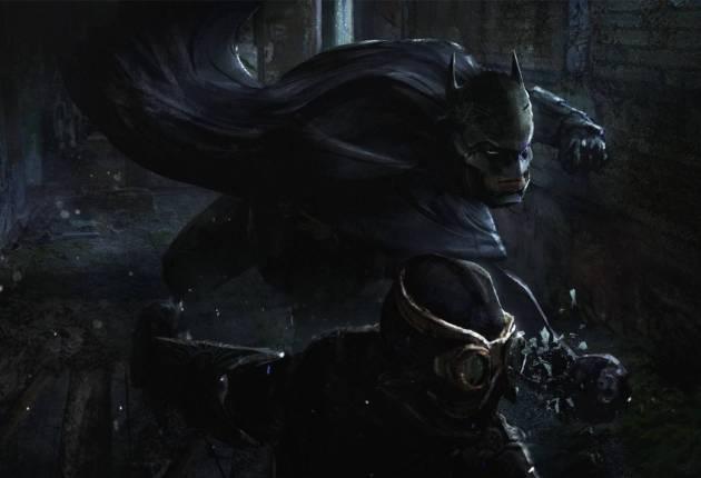 Batman: Court of Owls podría haberse filtrado con tres piezas de arte conceptual