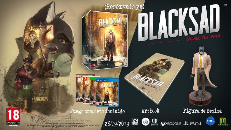 Blacksad: Under the Skin: Nuevo tráiler y presentada su edición coleccionista