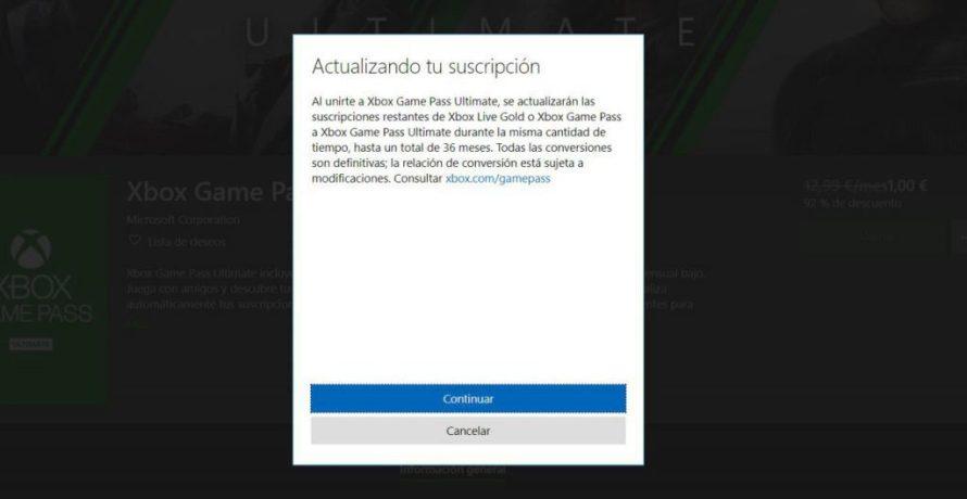 Passe de Jogo Xbox Ultimate