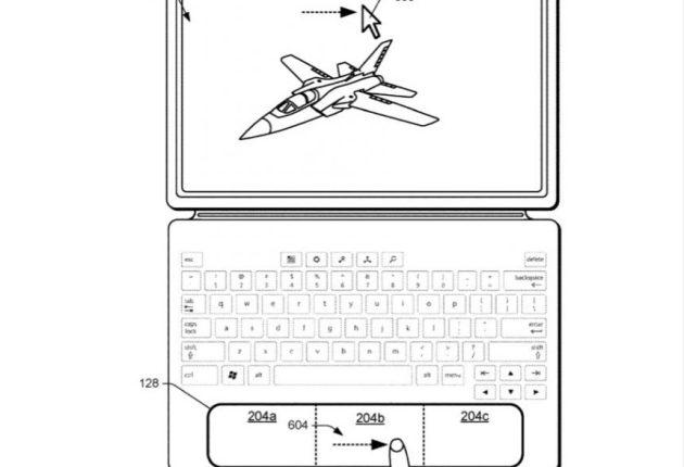 Microsoft patenta un panel táctil contextual