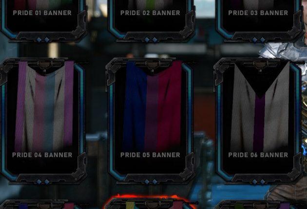 Gears 5 tendrá banderas del orgullo LGTBI en el modo multijugador