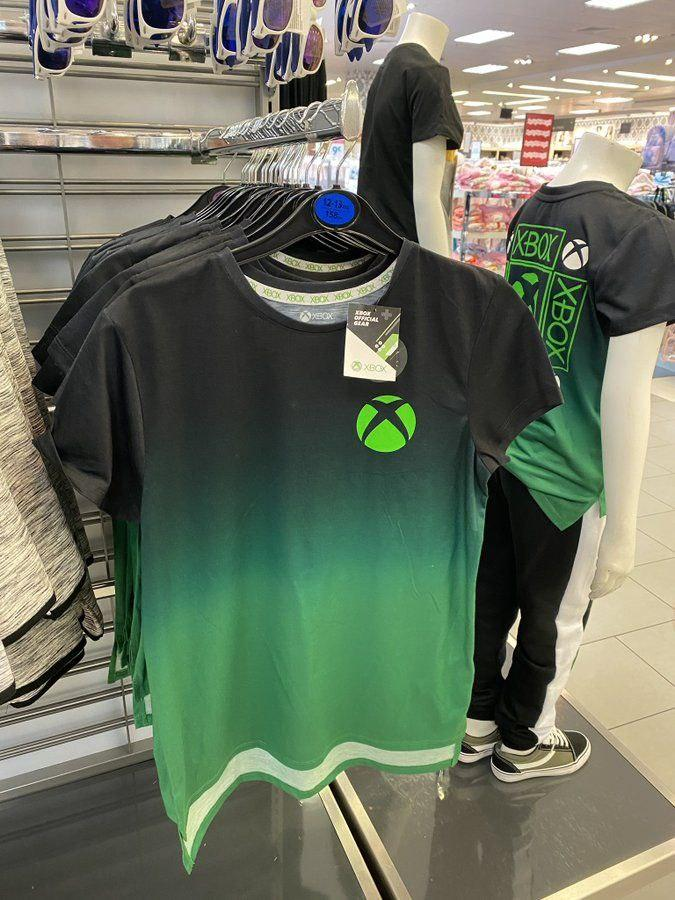 This is an Xbox T-shirt that you can buy at Primark