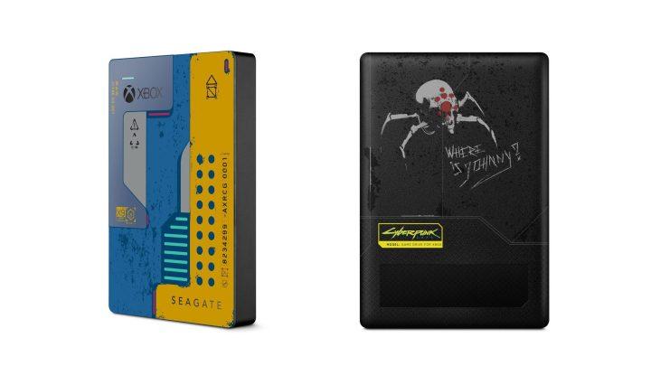 Disco duro de Seagate y Cyberpunk 2077