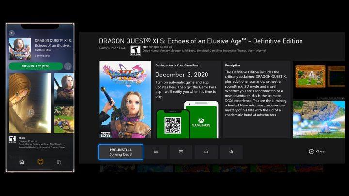 Preinstalar juegos en Xbox Series X y Xbox One en la actualización de noviembre 2020