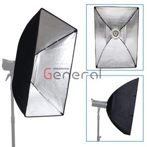softbox 60x90cm rectangular softbox with bowens mount speedring and bag by general Softbox 60x90cm Rectangular Softbox with Bowens Mount Speedring and Bag By General soft box 60x90 by general 3 300x300