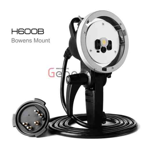 Godox AD-H600B Flash Head Portable Off-Camera Light Lamp for Godox Witstro AD600B AD600BM