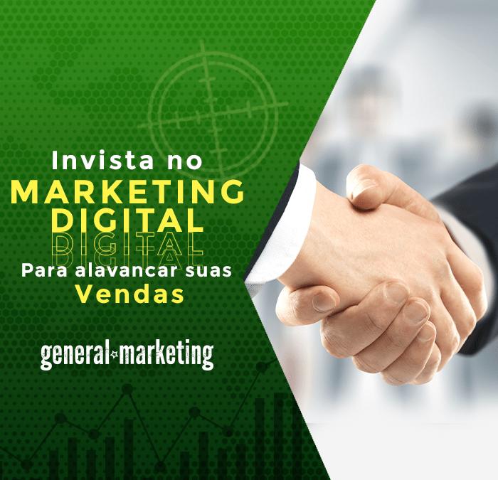 Invista no Marketing Digital para alavancar as suas vendas