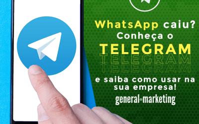 Whatsapp caiu? Conheça o Telegram e saiba como utilizar na sua empresa!