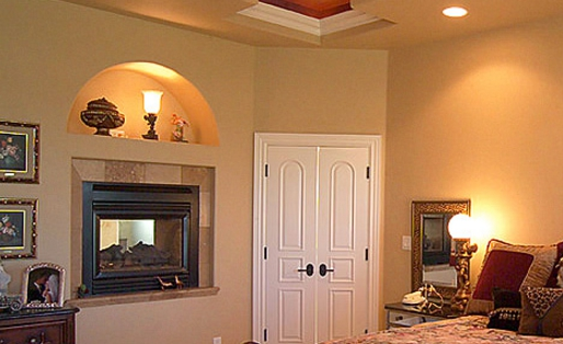 How To Determine The Right Fireplace Size For A Bedroom