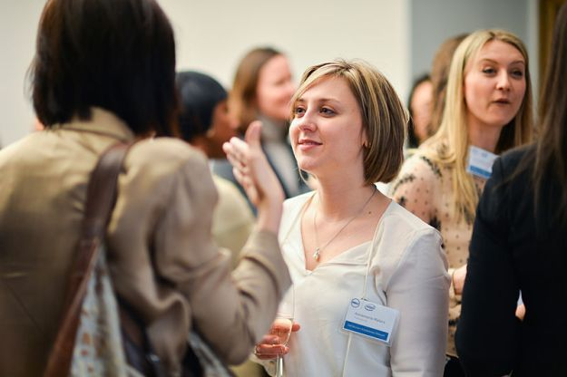 Women entrepreneurs at tech workshop image
