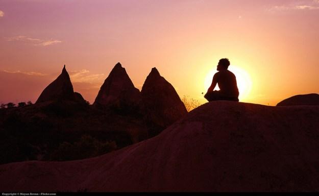 self-care meditation image