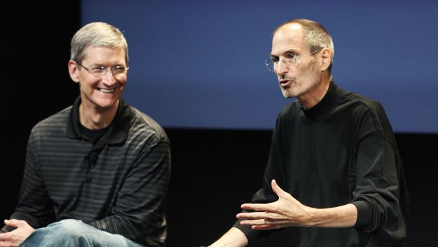 tim cook steve jobs