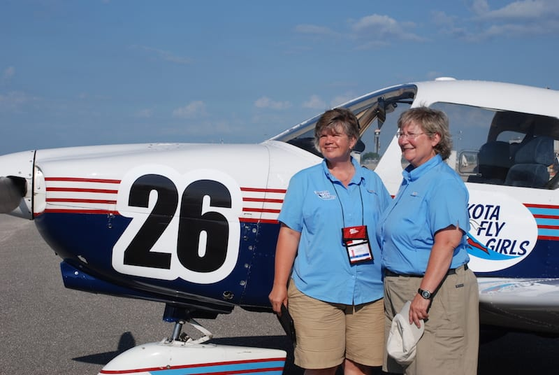 Eighth place winners, Team Classic 26, are Ramona Banks and Corbi Bulluck. They are also known as the Dakota FlyGirls.