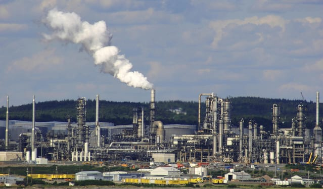 An oil refinery. (Photo courtesy FreeImages.com/William Picard)