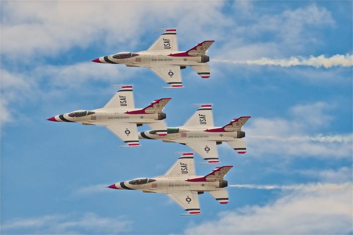 Fort Worth airshow becomes a drive-in event
